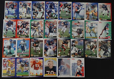 1991 Score Chicago Bears Team Set of 34 Football Cards With Supplemental
