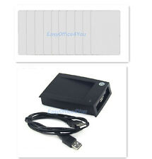 100pcs RFID 125KHz Writable Rewrite Proximity cards Access card + USB Writer