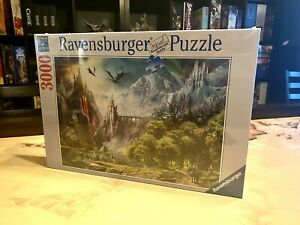 Ravensburger Reign of Dragons 3000 Piece Puzzle - NEW - RARE FIND