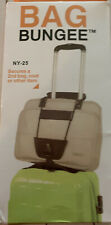 Bag Bungee Secures A 2nd Bag, Coat Or Other Item- New!