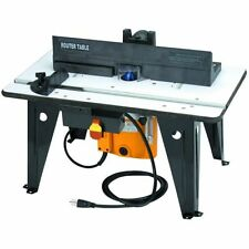 Chicago Electric Benchtop Plunge Router Table 1-3/4 HP Router