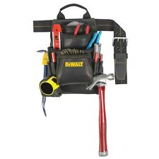 DeWalt DG5433 10 Pocket Top Grain Carpenter's Nail & Tool Bag