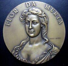 KING JOHN'S WIFE / ROMANCE FLOR DA MURTA / Bronze Medal / 80 mm / M97