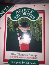 "Hallmark ""Wee Chimney Sweep"" Ornament 1987"