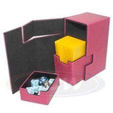 1 BCW Pink LX Deck Locker MTG Premium Storage Box