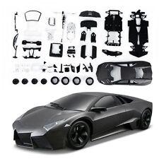 Bburago 1:24 Lamborghini Reventon Assembly DIY Racing Car Diecast MODEL KITS