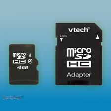 vTech 4Gb Micro SDHC Memory Card and Adaptor fits InnoTab 2 3 3S Kidizoom Touch