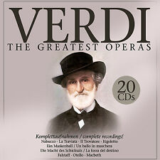 CD Verdi The Greatest Operas 20CDs von Verdi mit Maria Callas, Herbert v Karajan