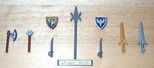 Lego Weapon Shields Sword Pike 7019 7946 Castle Vikings