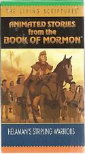 animated stories from book of mormon helaman's stripling warriors vhs lds