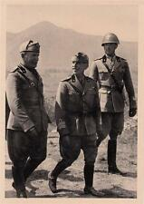 Z305) V. EMANUELE III, MUSSOLINI E IL PRINCIPE UMBERTO, ROMA 4 NOVEMBRE 1938.