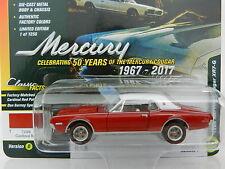 2017 Johnny Lightning *CLASSIC GOLD 1D* RED 1968 Mercury Cougar XR7 NIP