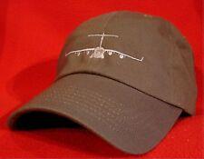 USAF C-17 Globemaster aircraft ball cap low-profile Air Force Green aviator hat