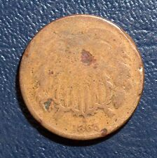 1865 2-cent GOOD details filler type ask for $2.95 combined S&H 2c03rc.5