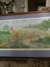 BETH CUMMINGS LITHOGRAPH A DAY TOGETHER 940 OF 3000 1988 PENCIL SIGNED.