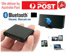Bluetooth musice audio receiver for sounddock speaker iphone ipod  30 pins
