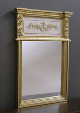 TRUMEAU - MIRROR ~ Handcrafted --  Dollhouse Miniature ~ 1:12 scale ~ Room Box