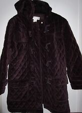 WOMEN'S JONES NEW YORK SPORT BROWN WINTER COAT L EXCELLENT CONDITION*