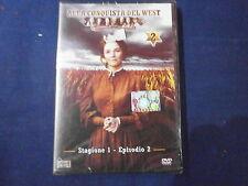 ALLA CONQUISTA DEL WEST STAGIONE 1  EPISODIO 2 DVD ORIGINALE NUOVO INCELLOFANATO