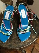 Faith Solo strappy multicolour sandals UK 3
