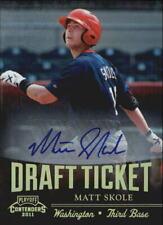 2011 Playoff Contenders Draft Ticket Autographs #DT98 Matt Skole