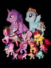 My Little Pony Friendship is Magic Talking Wedding Cadance G4 Lot & 2 Plush Toys