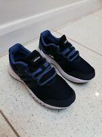 NEW Adidas Galaxy 4k Men's Trainers Running Shoes UK Size 1 Dark Blue Navy