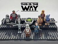 Star Wars Mandalorian Series Set 10 Minifigures Custom Lot - USA SELLER