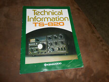 Kenwood TS-820 Technical Infromation Booklet