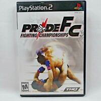 Pride FC Fighting Championships Sony Playstation 2 ps2 NO GAME DISC