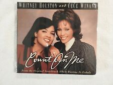 "WHITNEY HOUSTON & CECE WINANS ""Count On Me"" BRAND NEW PROMO ONLY CD! SEALED!"