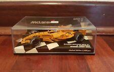 Mclaren Mp4-21 Test car Raikkonen Minichamps 1 43
