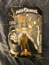 Mighty Morphin Power Rangers 6.5-Inch White Ranger Legacy Action Figure