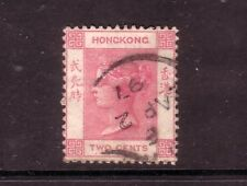 HONG KONG....  1882  2c rose used, Sg32