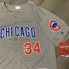 Jon Lester Chicago Cubs Jersey Adult XL Gray MLB Baseball Majestic New Tags