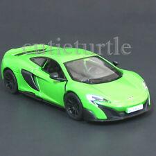 Kinsmart Mclaren 675LT 675 LT 1:36 Diecast Toy Car  KT5392D Green