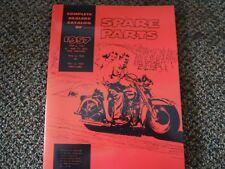 PARTS BOOK HARLEY PANHEAD 45 WL 46-52 SERVIE-CAR 51-57 1949-1957