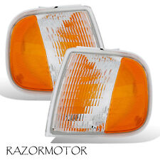 97-03/02 Replacement Corner Park Signal Light Set For Ford F150/Expedition Pair