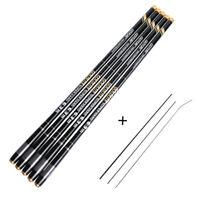Goture Telescopic Fishing Rod 2/8 Super Hard Carbon Fiber Stream Carp Hand Pole