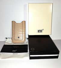 MONTBLANC BOHEME ETUI Luxury Kroko Leder Hülle Case Smart Phone Holder NEU OVP