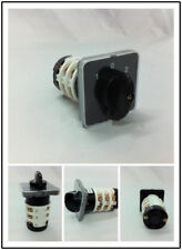 1PCS Combination Switch Latching AC 440V 20A 3 position(1-0-2) 12 Terminals
