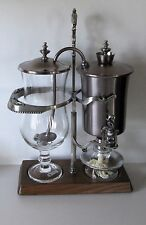 ODETTE VINTAGE BALANCE COFFEE MAKER 0.8 LITRE IN GREAT CONDITION BRUSHED STEEL