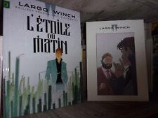 Largo Winch-L'étoile du matin-Tirage limité-Ex-libris-Dossier graphique-BD
