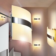 Applique murale vetro bianco lampada corridoio Luce scala interruttore 143482