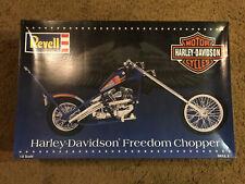 Harley Davidson Model Kit Freedom Chopper Revell 1/8 Scale NEW--AB