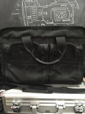Tumi Laptop Messenger Bag Black