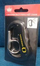 NCAA Oregon Ducks Carabiner Multi-Tools Key Chain