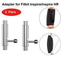 2-6PC Wtach Band Adapter Bracelet Strap Connectors for Fitbit Inspire/Inspire HR