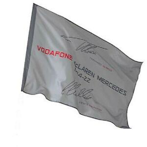 McLaren Mercedes VodaFone Formula One Flag BNWT F1 RRP£17     HED004