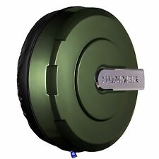 "33"" Hummer H3 Xtreme Tire Cover - Color Matched - Shadow Green"